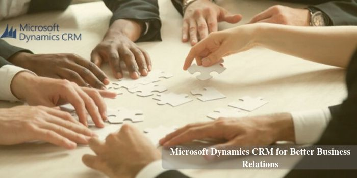CRM for better business relations