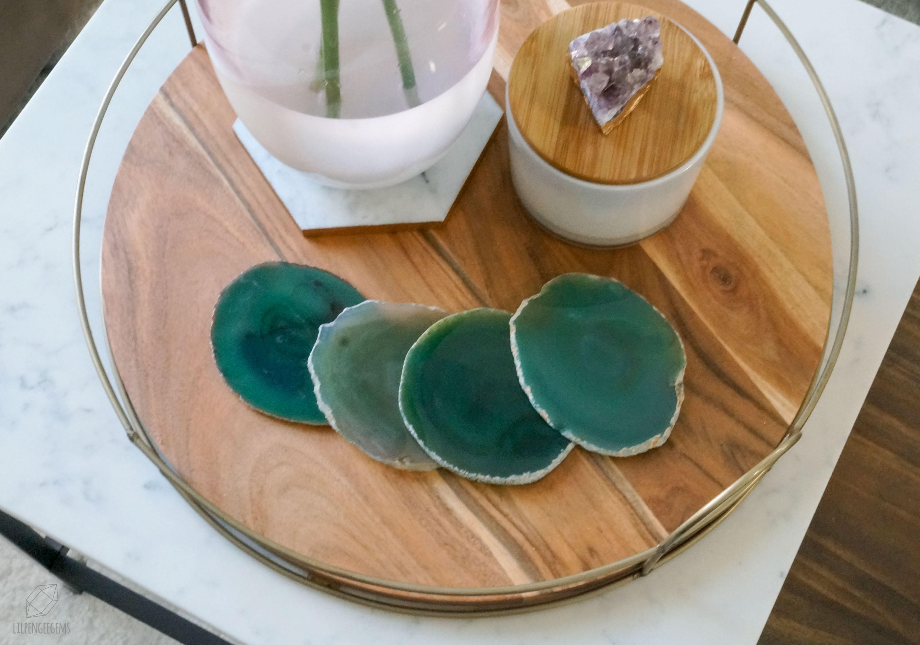 What are Decorative Coaster Sets?