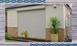 PVC rolling shutters