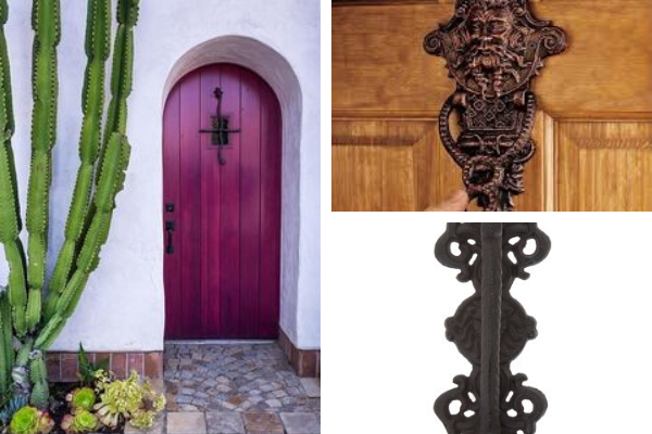 Imaginative Front Door Handles Add Charm To The Main Door