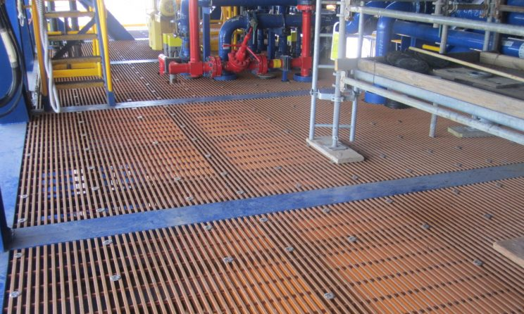 FRP grating product